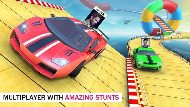 Ramp Car Stunts 3D Free - Multiplayer Car Games screenshot 5