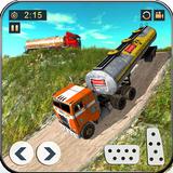 Offroad Oil Tanker Truck Driving: Truck Games 2021