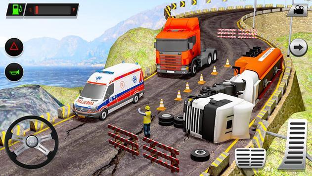 Offroad Truck Simulator - Truck Driving Simulator screenshot 11