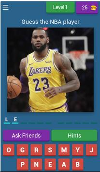Guess The NBA Player And EARN MONEY poster