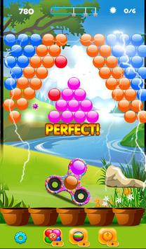 Real Fidget Spinner Bubble Shooter screenshot 1
