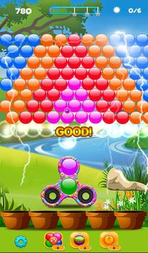 Real Fidget Spinner Bubble Shooter screenshot 2