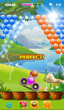 Real Fidget Spinner Bubble Shooter screenshot 3