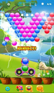 Real Fidget Spinner Bubble Shooter screenshot 5