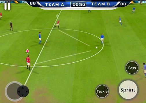 Russia 2018 Pro Football World Cup Soccer Strike screenshot 3