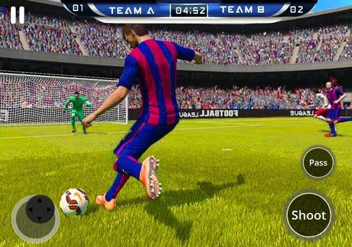 Russia 2018 Pro Football World Cup Soccer Strike screenshot 5