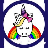 Unicorn Colouring Book icon