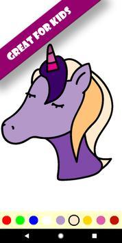 Unicorn Colouring Book screenshot 2