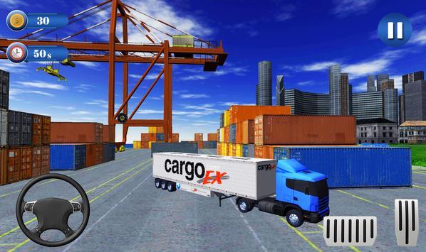 Offroad City Cargo Transport Euro Truck Simulator screenshot 4