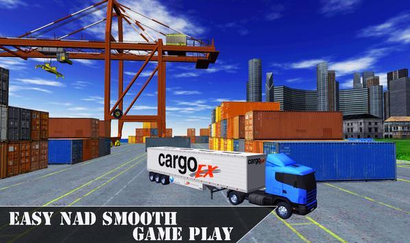 Offroad City Cargo Transport Euro Truck Simulator poster