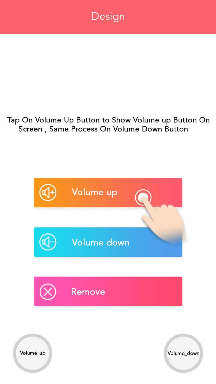 Gaming controller - Fire with Volume Button for Android