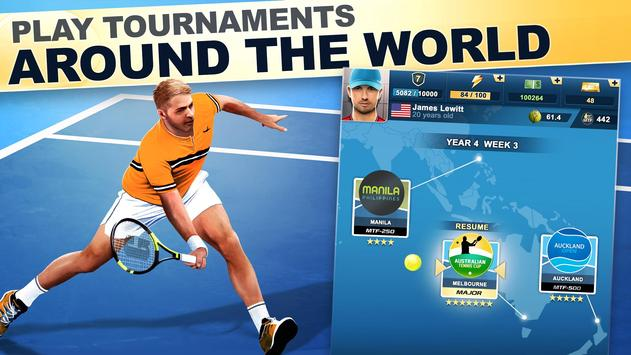 TOP SEED Tennis: Sports Management Simulation Game poster