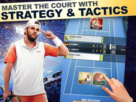 TOP SEED Tennis: Sports Management Simulation Game स्क्रीनशॉट 6