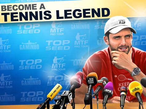 TOP SEED Tennis: Sports Management Simulation Game स्क्रीनशॉट 8