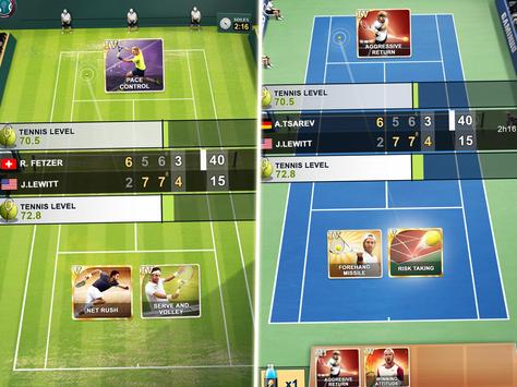 TOP SEED Tennis: Sports Management Simulation Game स्क्रीनशॉट 10