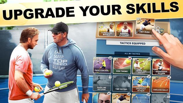 TOP SEED Tennis: Sports Management Simulation Game screenshot 1