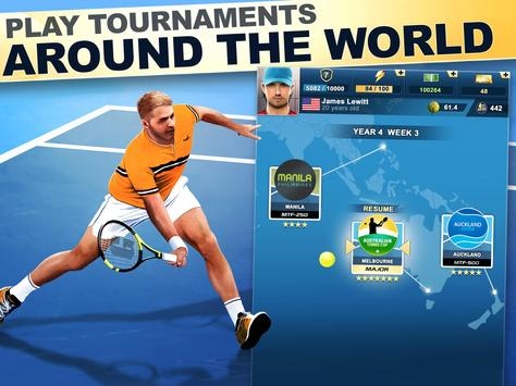 TOP SEED Tennis: Sports Management Simulation Game स्क्रीनशॉट 11