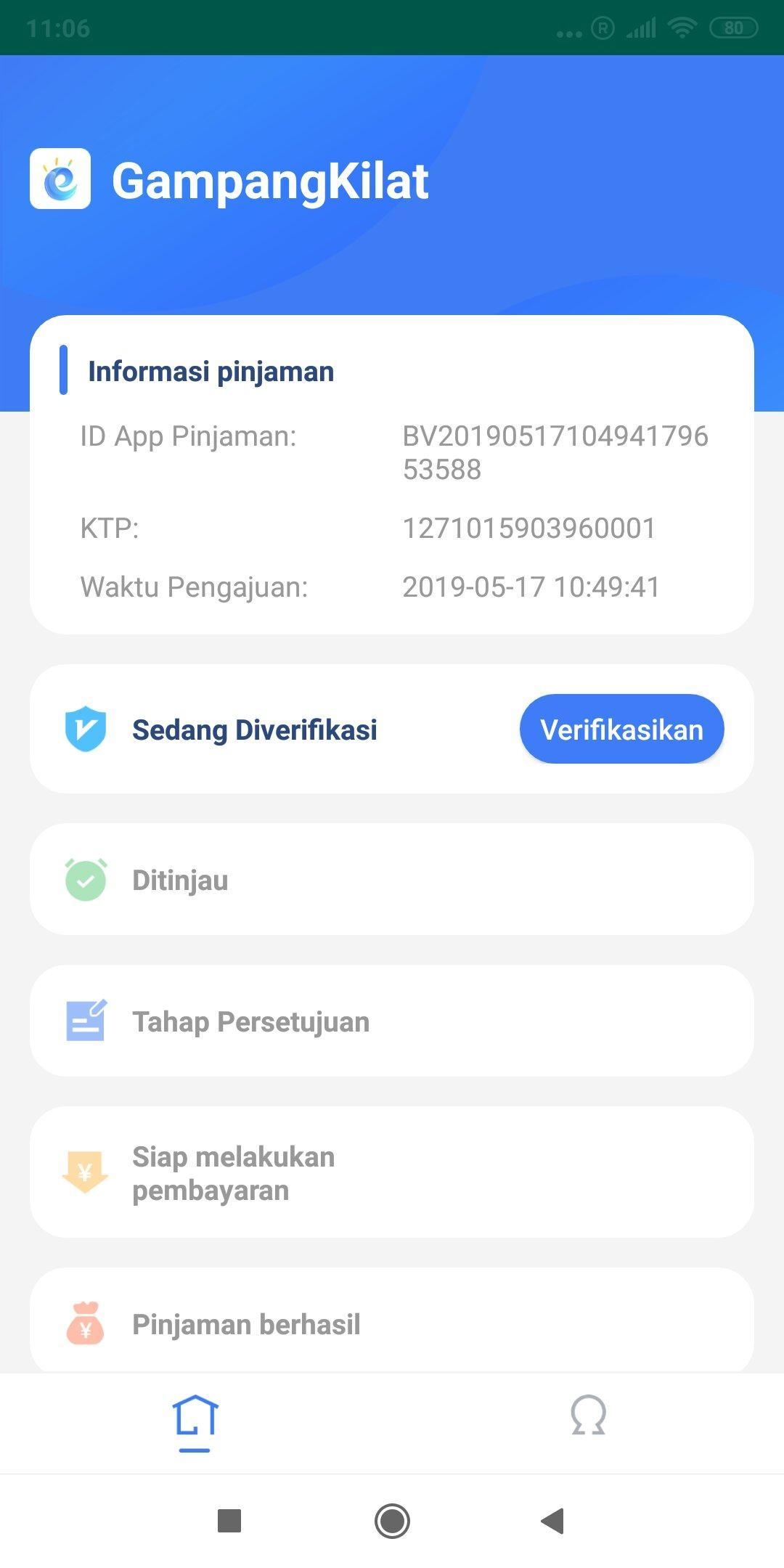 Aplikasi store Gampang Kilat