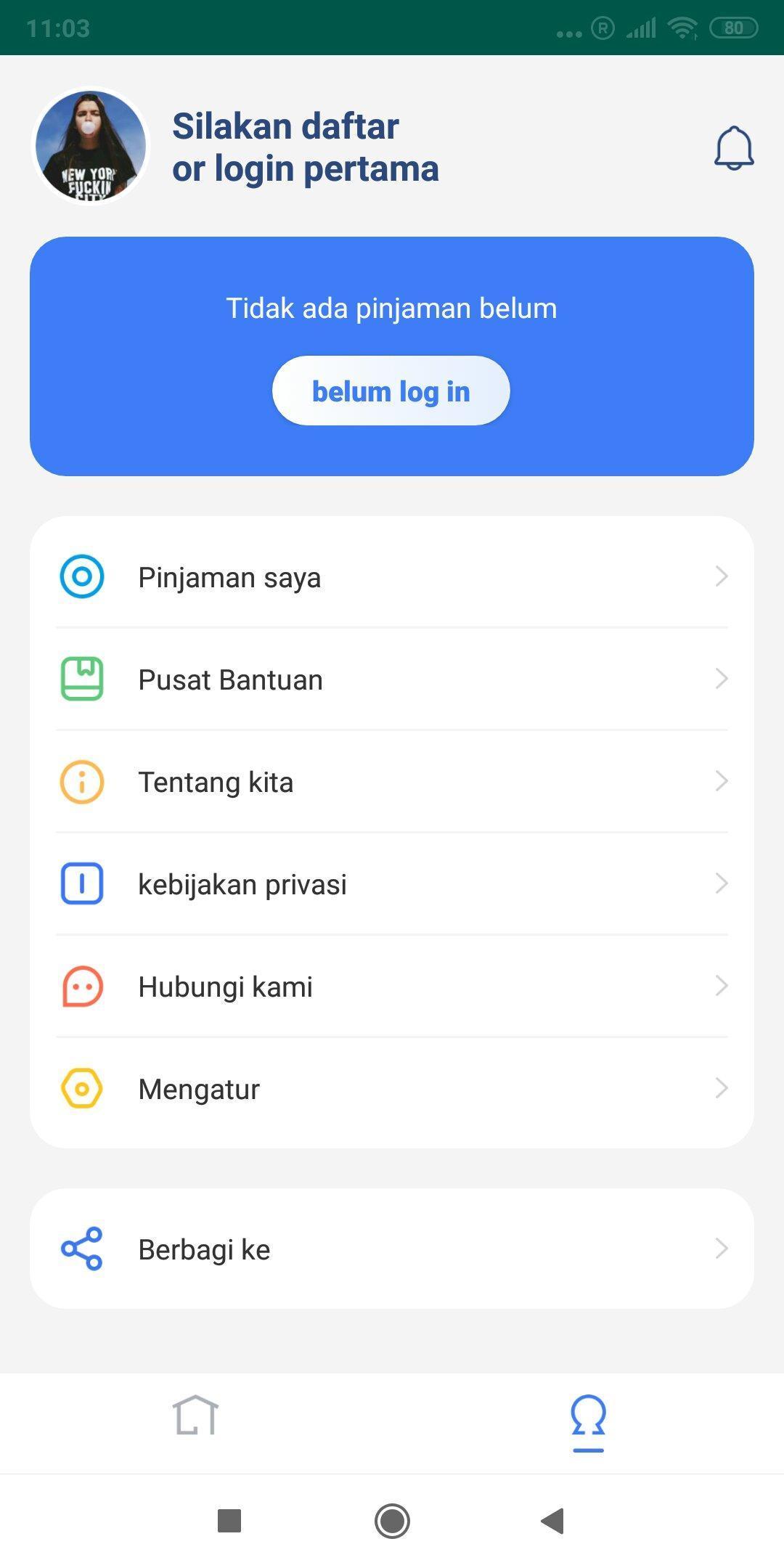Aplikasi Gampang Kilat yang baru