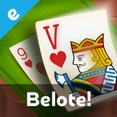 Multiplayer Belote & Coinche icon