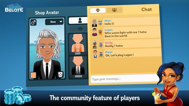 Multiplayer Belote & Coinche screenshot 5