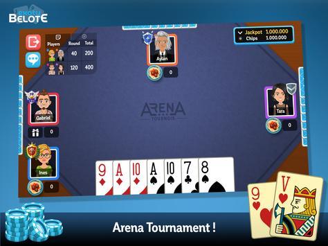 Multiplayer Belote & Coinche screenshot 9
