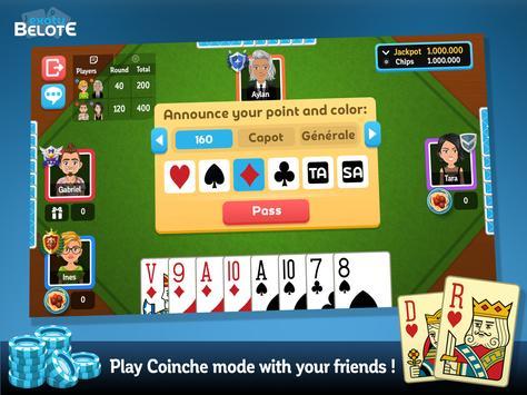 Multiplayer Belote & Coinche screenshot 13