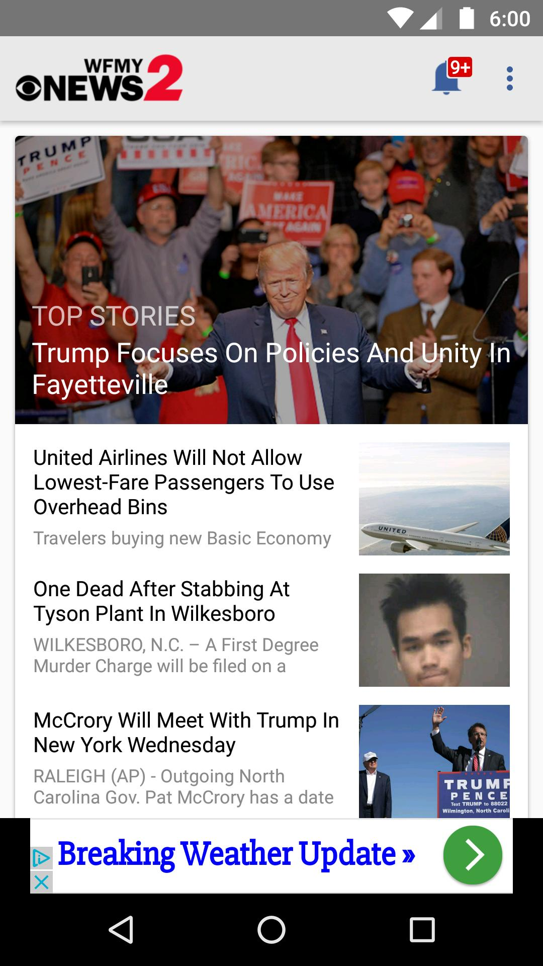 WFMY News 2 for Android - APK Download