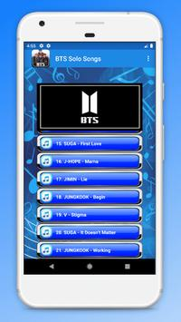 BTS Solo Songs screenshot 2