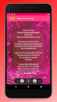 Mamamoo Songs screenshot 1