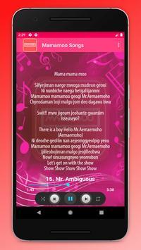 Mamamoo Songs screenshot 3