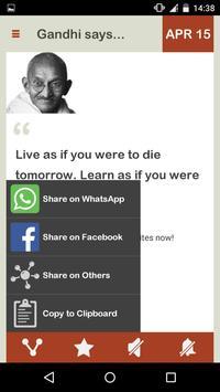 Gandhi Daily screenshot 4