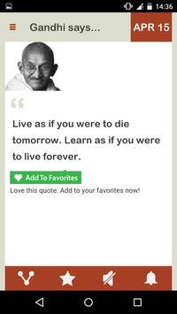 Gandhi Daily screenshot 6