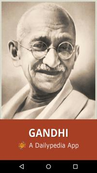 Gandhi Daily poster