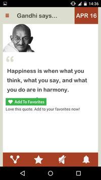 Gandhi Daily screenshot 3