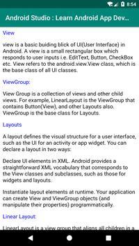 Learn Android Studio: App Development screenshot 1