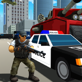 Gangstar City: Modern Gun Strike 3D- FPS Shooter icon