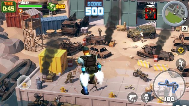 Gangstar City: Modern Gun Strike 3D- FPS Shooter screenshot 12