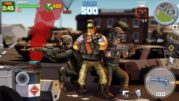 Gangstar City: Modern Gun Strike 3D- FPS Shooter screenshot 16