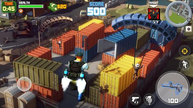 Gangstar City: Modern Gun Strike 3D- FPS Shooter screenshot 1