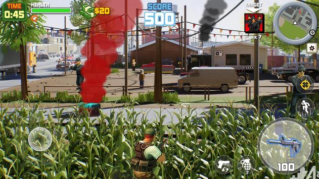 Gangstar City: Modern Gun Strike 3D- FPS Shooter screenshot 22