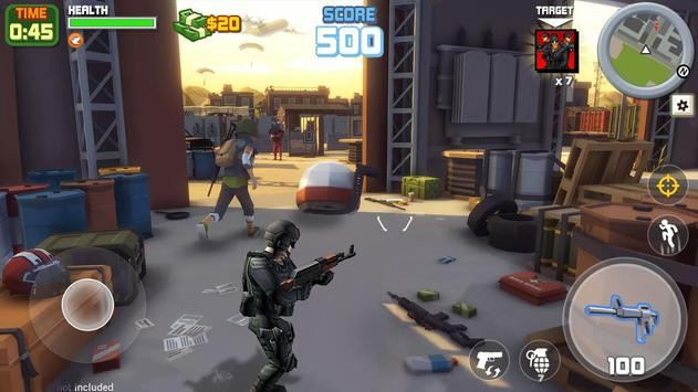 Gangstar City: Modern Gun Strike 3D- FPS Shooter screenshot 2