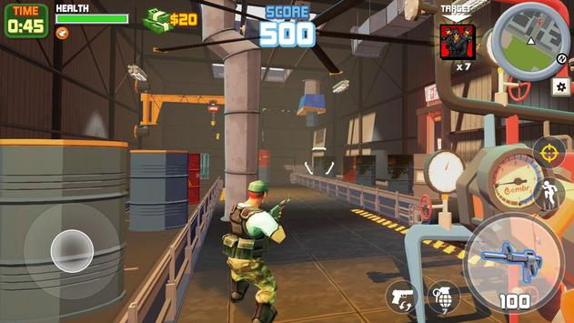 Gangstar City: Modern Gun Strike 3D- FPS Shooter screenshot 7