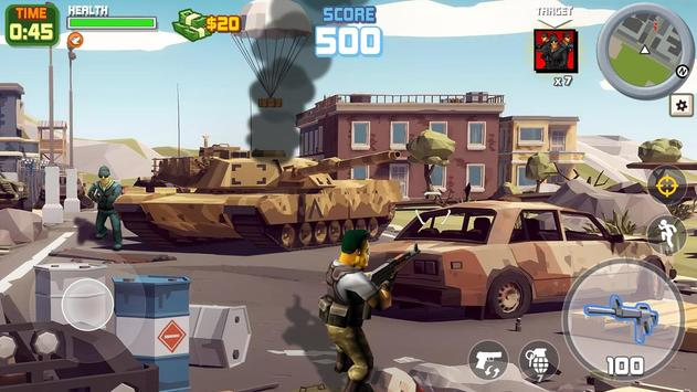 Gangstar City: Modern Gun Strike 3D- FPS Shooter screenshot 5