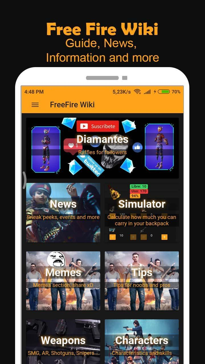 Free Fire Wiki For Android Apk Download
