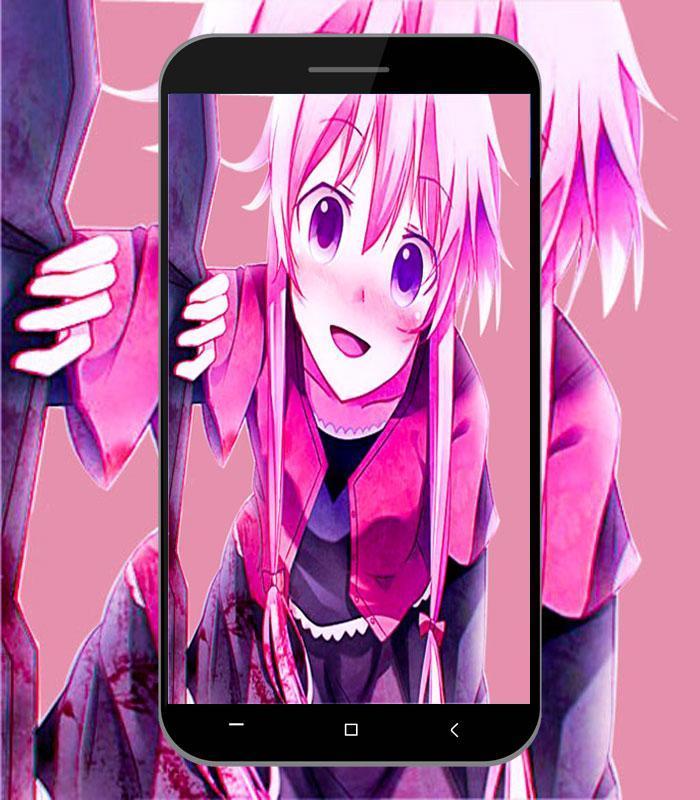 Yuno Gasai Hd Wallpaper Art For Android Apk Download