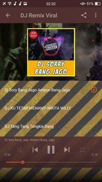 DJ Sorry Bang Jago Ampun Bang Jago Mp3 screenshot 2