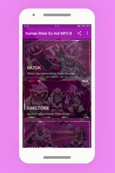 Lagu Kamen Rider Ex Aid Lengkap Offline screenshot 1
