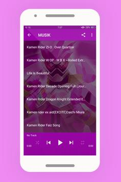 Lagu Kamen Rider Ex Aid Lengkap Offline screenshot 2