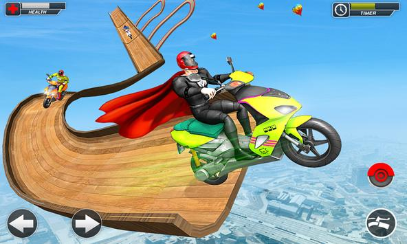 Superhero Scooter GT Stunt Game: Impossible Tracks screenshot 4